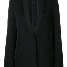 Stella McCartney deep v-neck blazer - Black