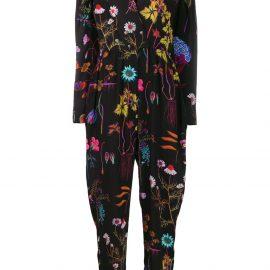 Stella McCartney floral printed jumpsuit - Black