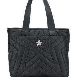 Stella McCartney logo tote bag - Black