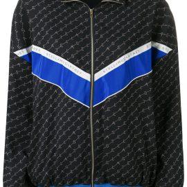 Stella McCartney monogram sports jacket - Blue