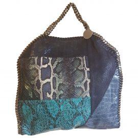 Stella Mccartney Falabella Blue Cloth Handbag for Women