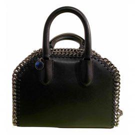 Stella Mccartney Falabella Box Black Cloth Handbag for Women
