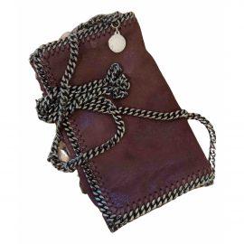 Stella Mccartney Falabella Burgundy Cloth Handbag for Women