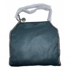 Stella Mccartney Falabella Green Cloth Handbag for Women