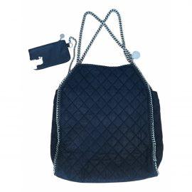 Stella Mccartney Falabella Navy Cloth Handbag for Women