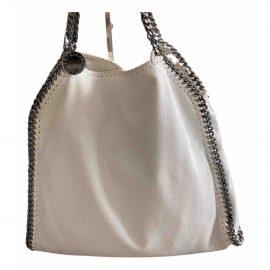 Stella Mccartney Falabella White Cloth Handbag for Women