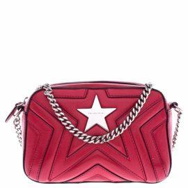 Stella Mccartney N Red Leather Handbag for Women