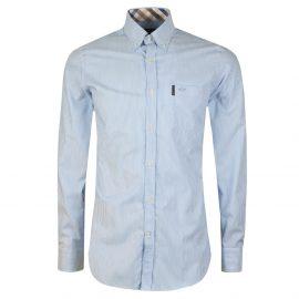 Stripe Long Sleeve Oxford Shirt