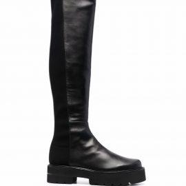 Stuart Weitzman 5050 thigh-high leather boots - Black