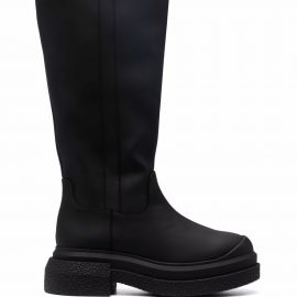 Stuart Weitzman Charli knee-high leather boots - Black