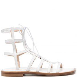Stuart Weitzman Kora 10mm gladiator sandals - White