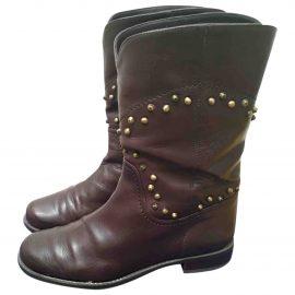 Stuart Weitzman Leather cowboy boots