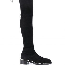 Stuart Weitzman Lowland over-the-knee stretch boots - Black