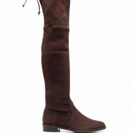 Stuart Weitzman Lowland thigh-high boots - Brown