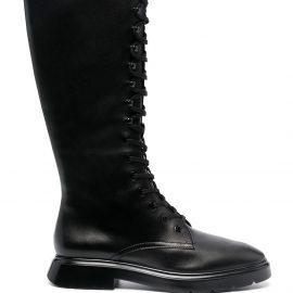 Stuart Weitzman McKenzie knee-high leather boots - Black