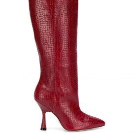 Stuart Weitzman Parton knee-high boots - Red