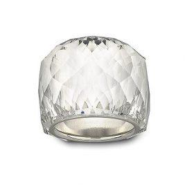 Swarovski Nirvana Rhodium Plated Crystal Ring