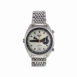 TAG Heuer 1970 pre-owned Carrera 38mm - Silver