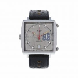 TAG Heuer 1970 pre-owned Monaco 38mm - Silver
