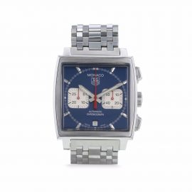 TAG Heuer 2000 pre-owned Monaco 38mm - Blue