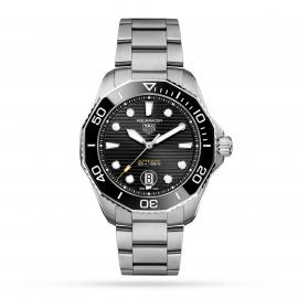 TAG Heuer Aquaracer Calibre 5 Automatic Mens Black Steel Watch WBP201ABA0632