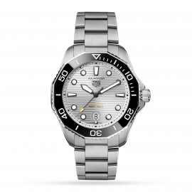 TAG Heuer Aquaracer Calibre 5 Automatic Mens Silver Steel Watch WBP201CBA0632