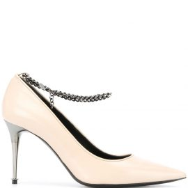 TOM FORD chain-embellished pumps - Neutrals