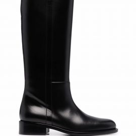 TOM FORD knee-high leather boots - Black