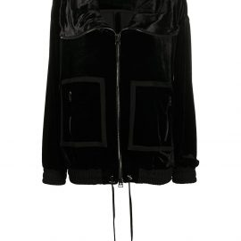 TOM FORD oversized zip-up jacket - Black