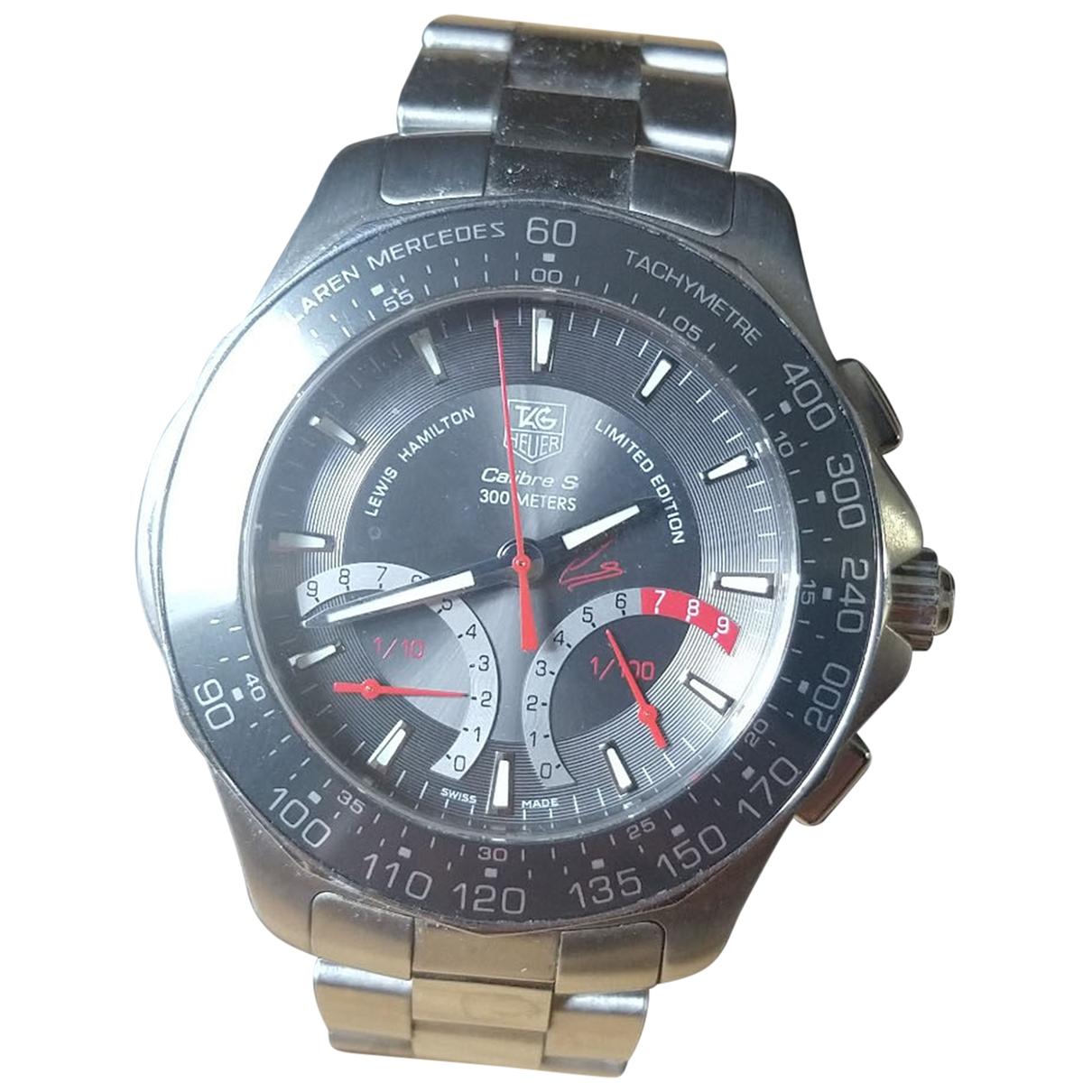 Tag Heuer Aquaracer Grey Steel Watch for Men