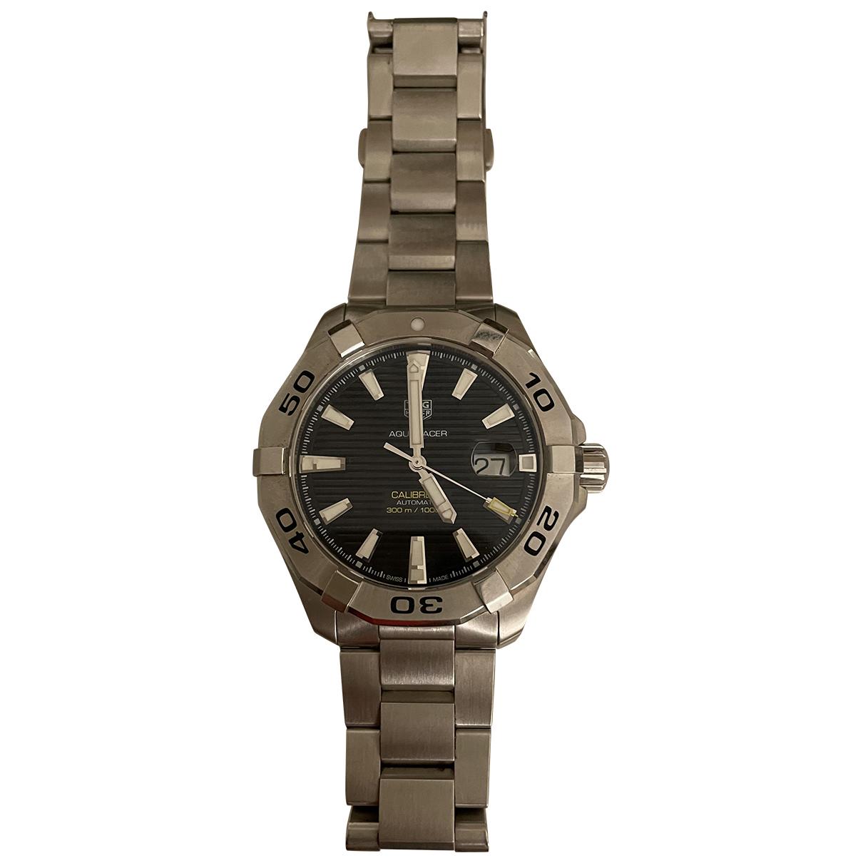 Tag Heuer Aquaracer Metallic Steel Watch for Men