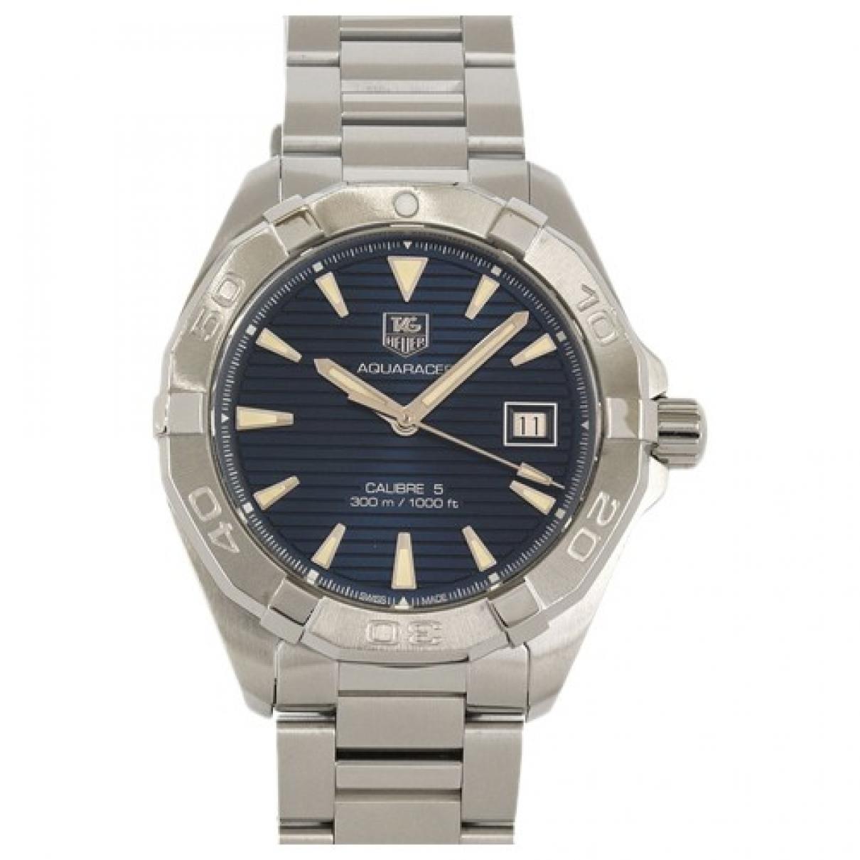 Tag Heuer Aquaracer Navy Steel Watch for Men