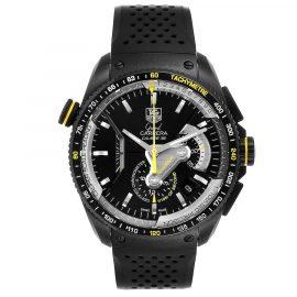 Tag Heuer Black Titanium Grand Carrera Calibre CAV5186 Men's Wristwatch 43 MM