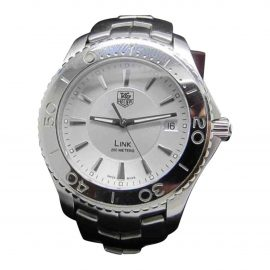 Tag Heuer Link Silver Steel Watch for Men