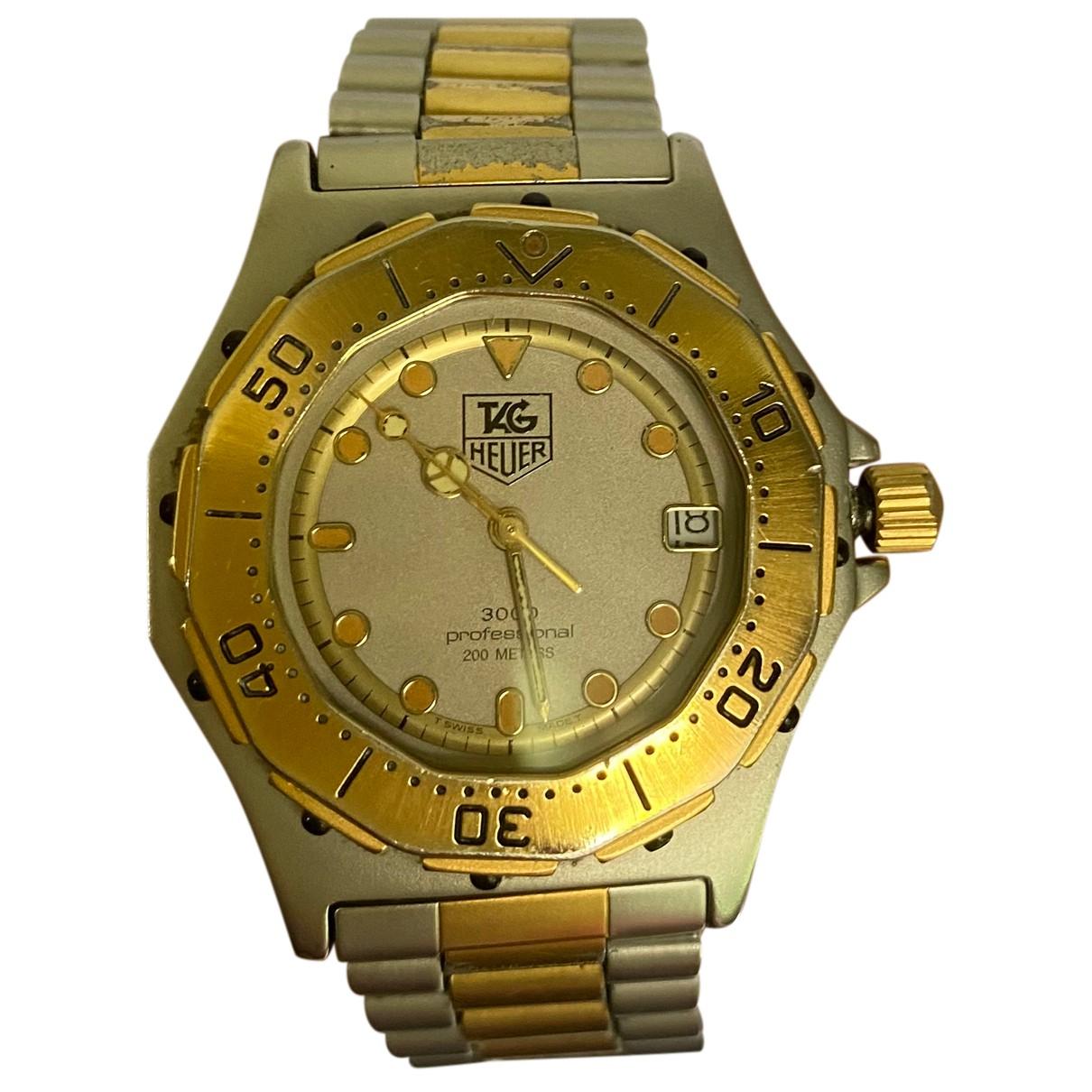 Tag Heuer N Gold Steel Watch for Women