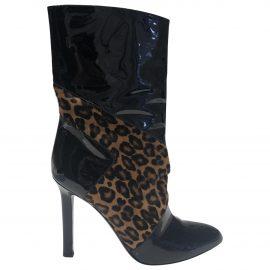 Tamara Mellon Pony-style calfskin riding boots