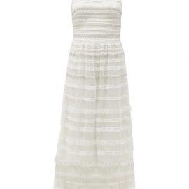 Temperley London - Promise Embellished-tulle Dress - Womens - White