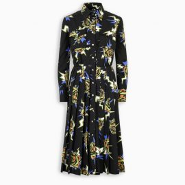 TheDoubleF x Prada Dress with green roses