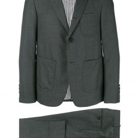 Thom Browne Super 120s formal suit - Grey