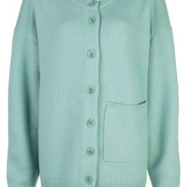 Tibi two-way cardigan sweater - Green