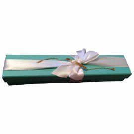 Tiffany & Co Atlas pink gold bracelet