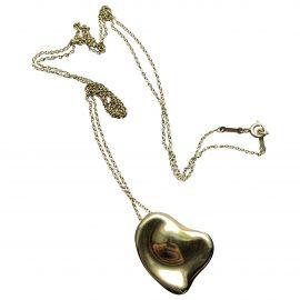 Tiffany & Co Elsa Peretti yellow gold pendant