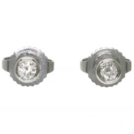 Tiffany & Co N Platinum Earrings for Women