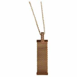 Tiffany & Co Tiffany Somerset yellow gold pendant