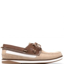 Timberland contrast-panel boat shoes - Neutrals