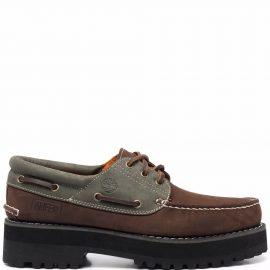 Timberland x Alife 3-Eye Classic Lug boat shoes - Brown