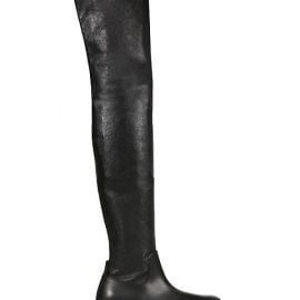 Tire Over-The-Knee Leather Boots