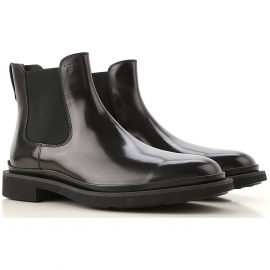 Tods Chelsea Boots for Men On Sale, Black, Leather, 2021, 10 6 6.5