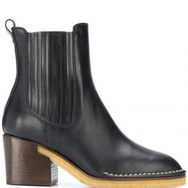 Tod's high heel Chelsea boots - Black