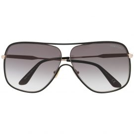 Tom Ford Eyewear aviator frame sunglasses - Black